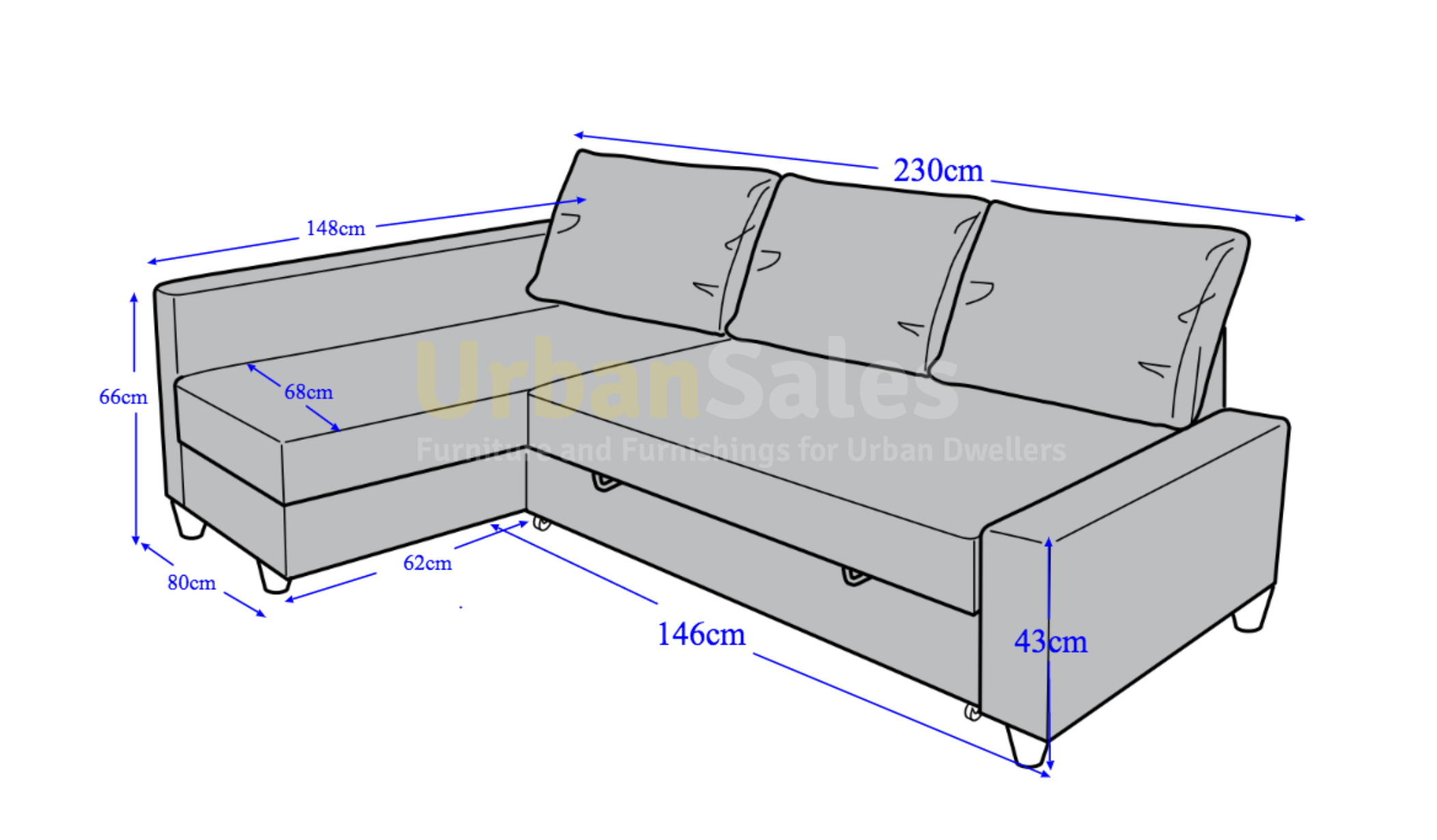 Sofa Bed Dimensions Size Hereo TheSofa