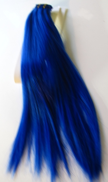 Dark Blue Hair Extensions 69