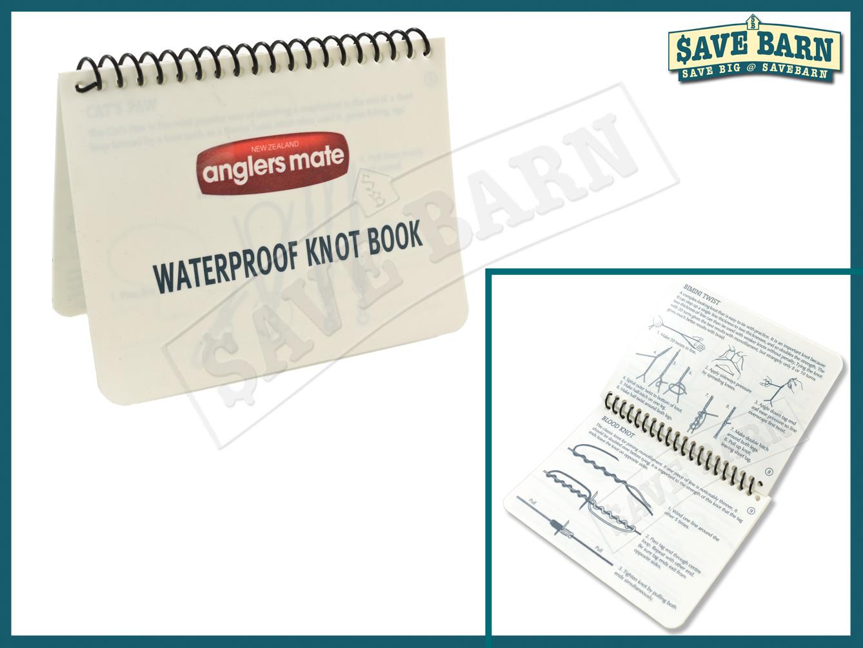 savebarn - Anglers Mate Waterproof Knots Book for sale!