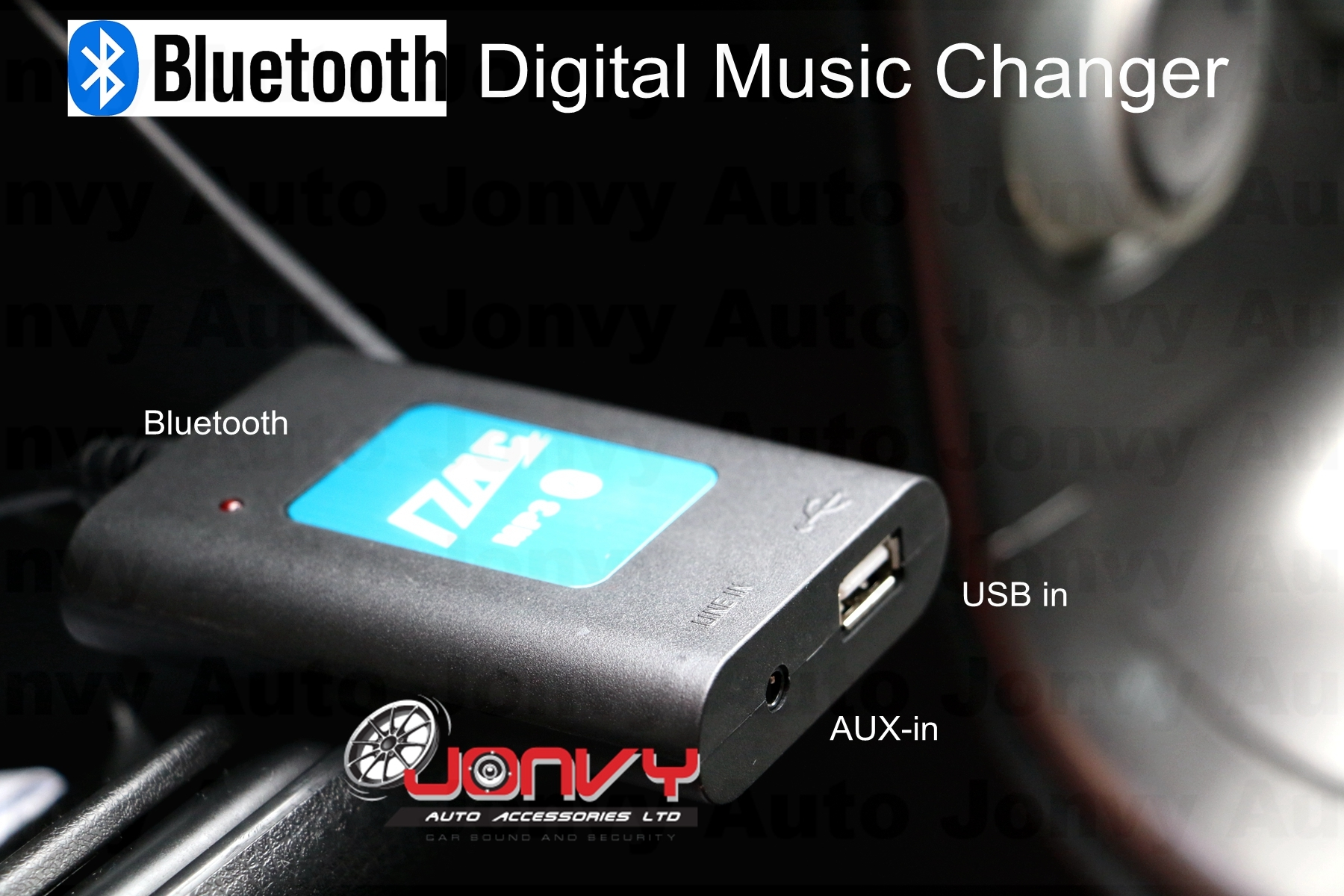 Jonvy Auto Digital Music Changer Subaru Mcintosh Usb Aux Bt For Wiring Click Image To Enlarge