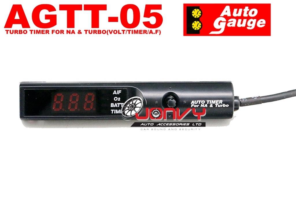 Jonvy Auto - Autogauge AGTT-05 Turbo Timer with VOLT/ TIMER/AF ...