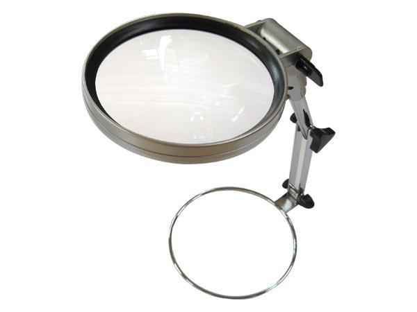 Lente di ingrandimento da tavolo pieghevole con luce led diametro 130 2x lavoro ebay - Lente ingrandimento da tavolo ...